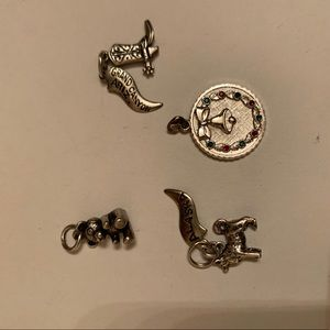 Jewelry - Silver charms